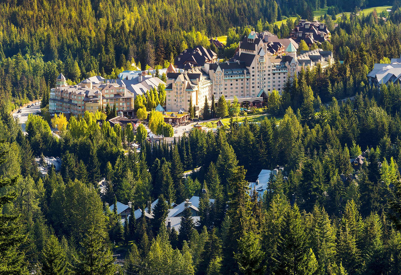 Fairmont Chateau Whistler | Summer | Blackcomb Mountain