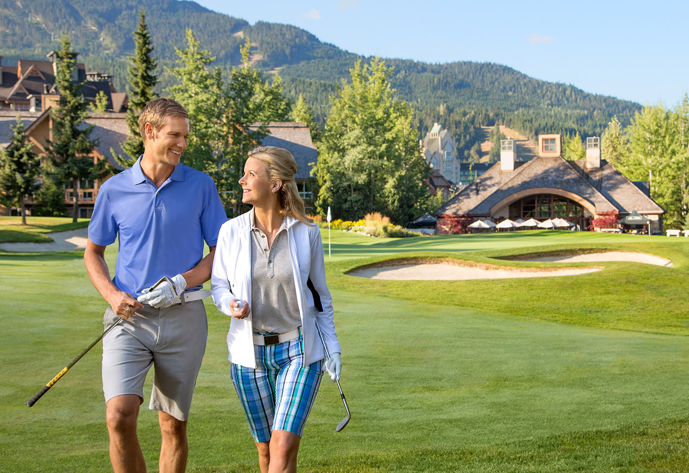 Unlimited golf at Fairmont Chateau Whistler Golf Club