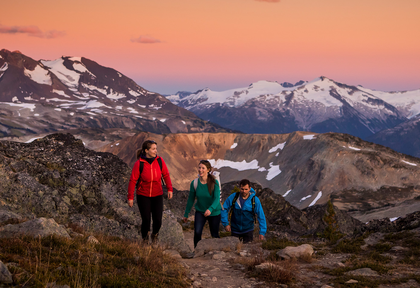Hiking in Whistler's Alpine | Image: Tourism Whistler, Justa Jeskova