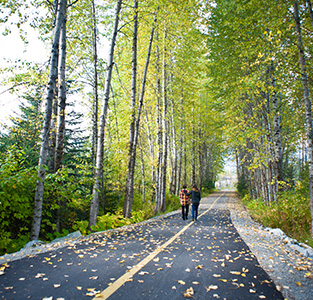 Romantic fall activities in Whistler