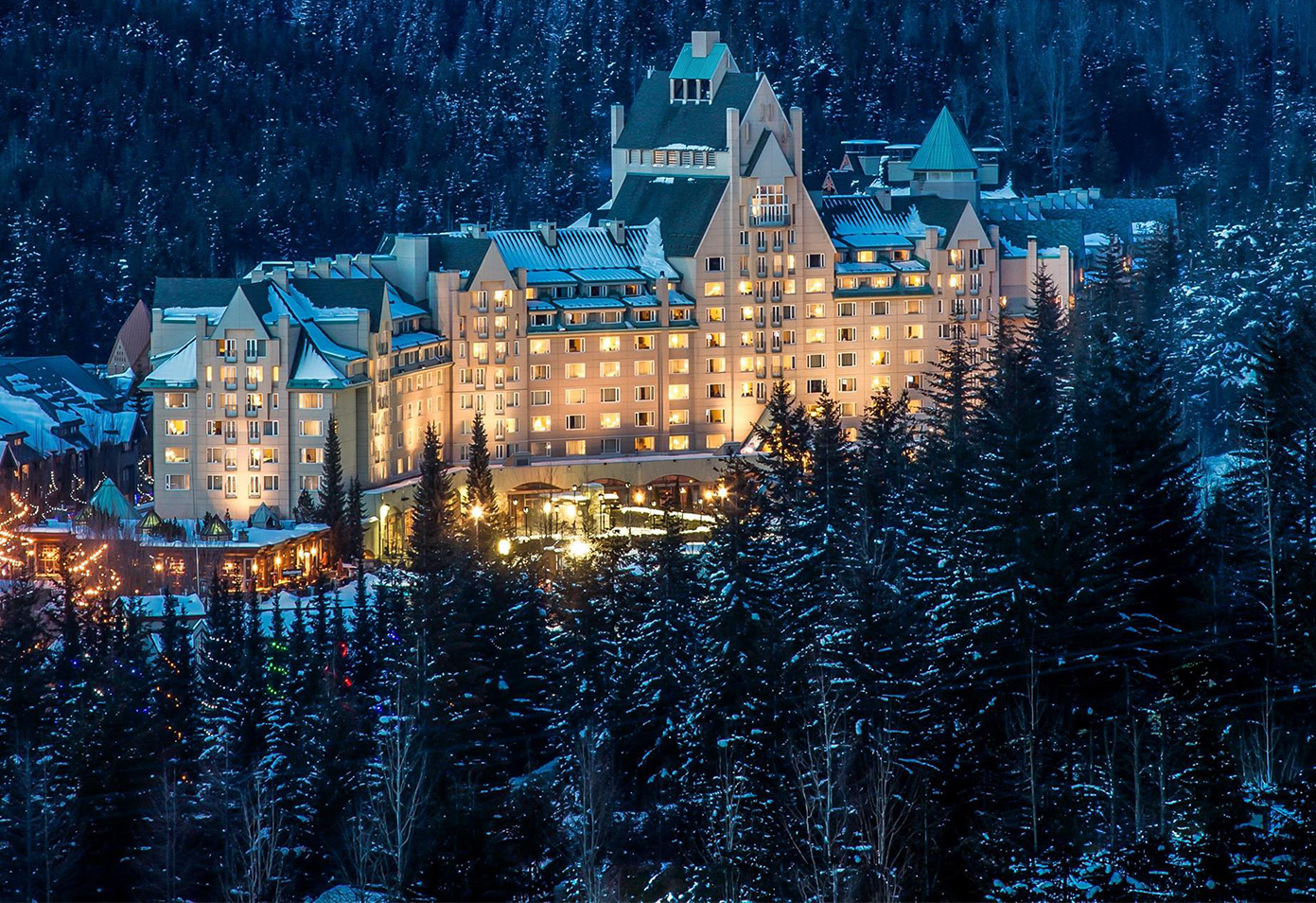 Winter in Whistler | Fairmont Chateau Whistler
