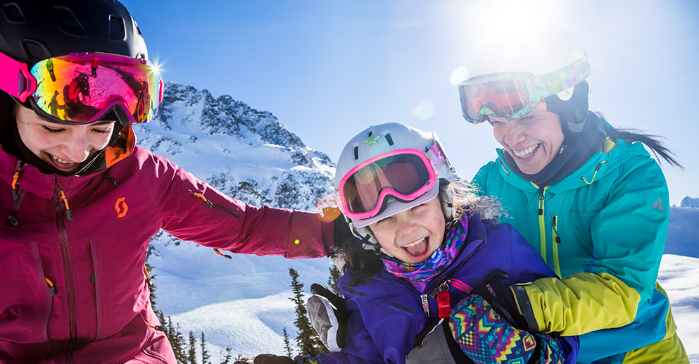 Spring family ski vacation | Image: Tourism Whistler, Justa Jeskova