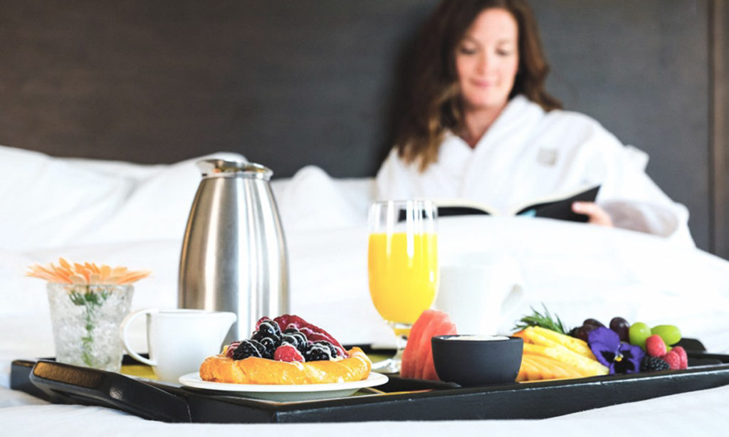 Breakfast in Bed | Fairmont Chateau Whistler