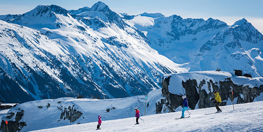 Spring skiing and family fun in Whistler, BC | Image: Tourism Whistler, Mike Crane