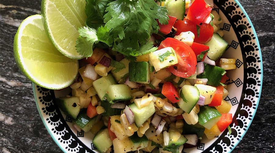 Mexican-inspired chopped salad recipe