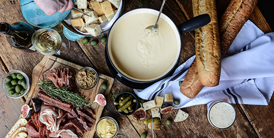 Fondue at The Chalet | Photo: Julie Zoney