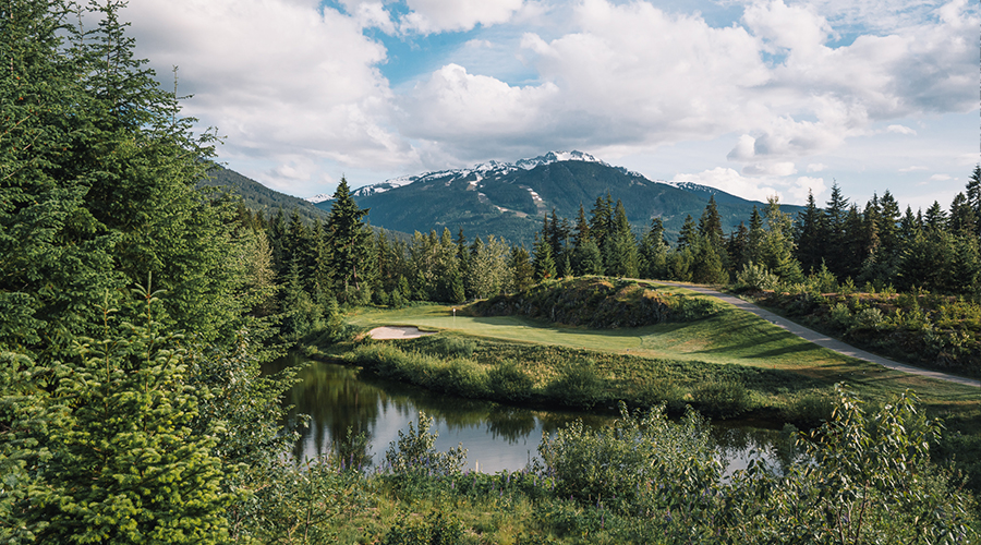 Signature Hole 8 | Fairmont Chateau Whistler Golf Club