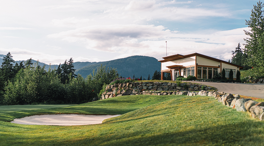 The Practice Facility | Fairmont Chateau Whistler Golf Club