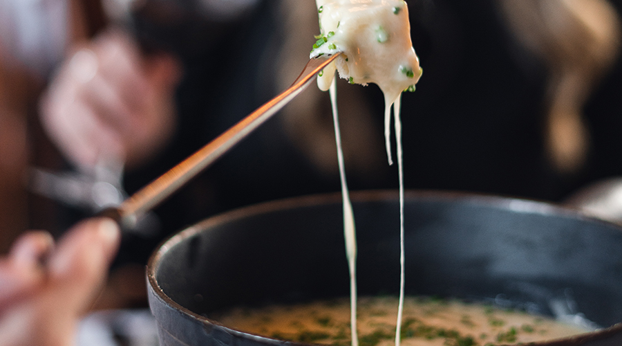 Cheese Fondue | Photo: Brad Flowerdew