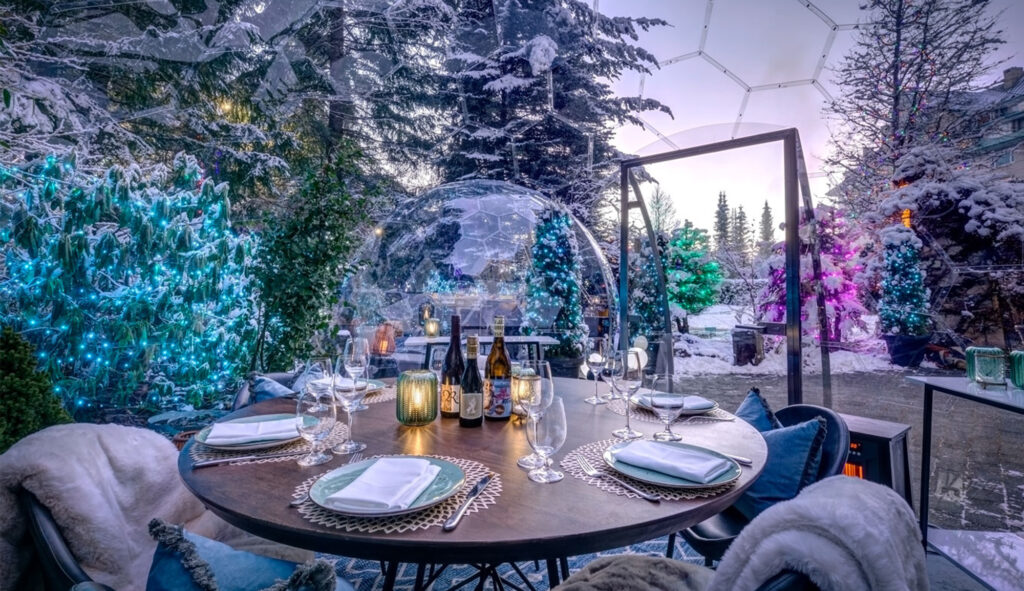 Snow Globes Dining Domes | Joern Rohde Photography