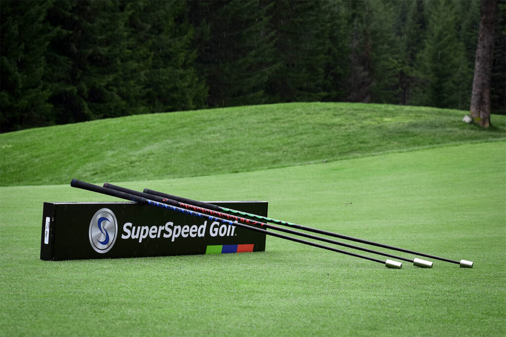Superspeed Golf on the Chateau Whistler Golf Course
