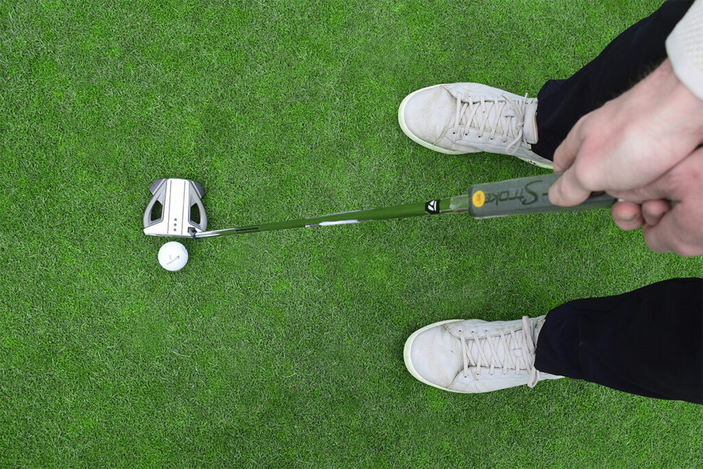 Putter on the Chateau Whistler Golf Course